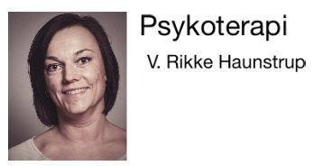 Psykoterapeut Rikke Haunstrup